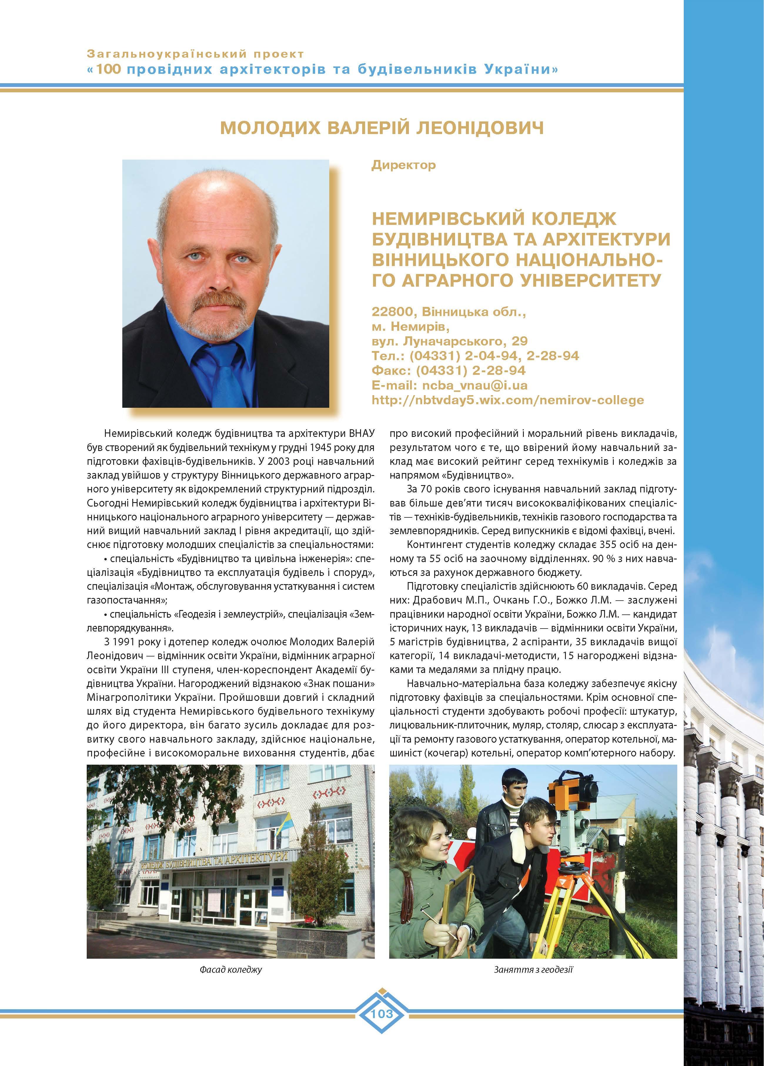 Молодих Валерій Леонідович