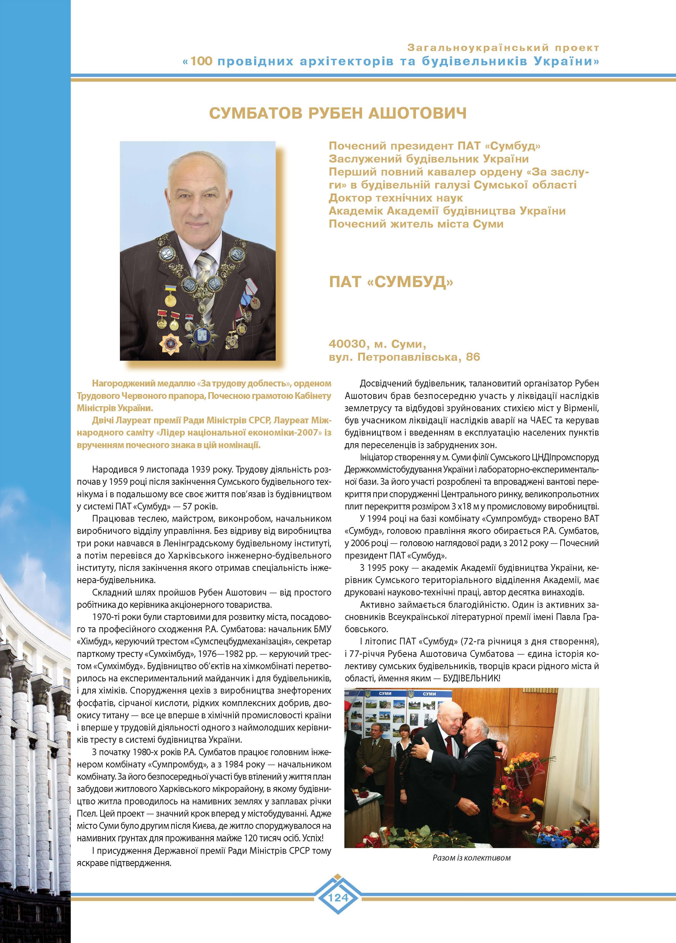 Сумбатов Рубен Ашотович