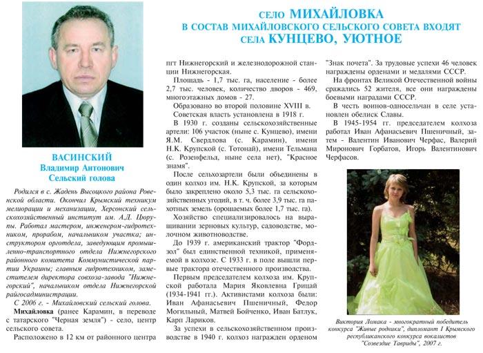 СЕЛО МИХАЙЛОВКА