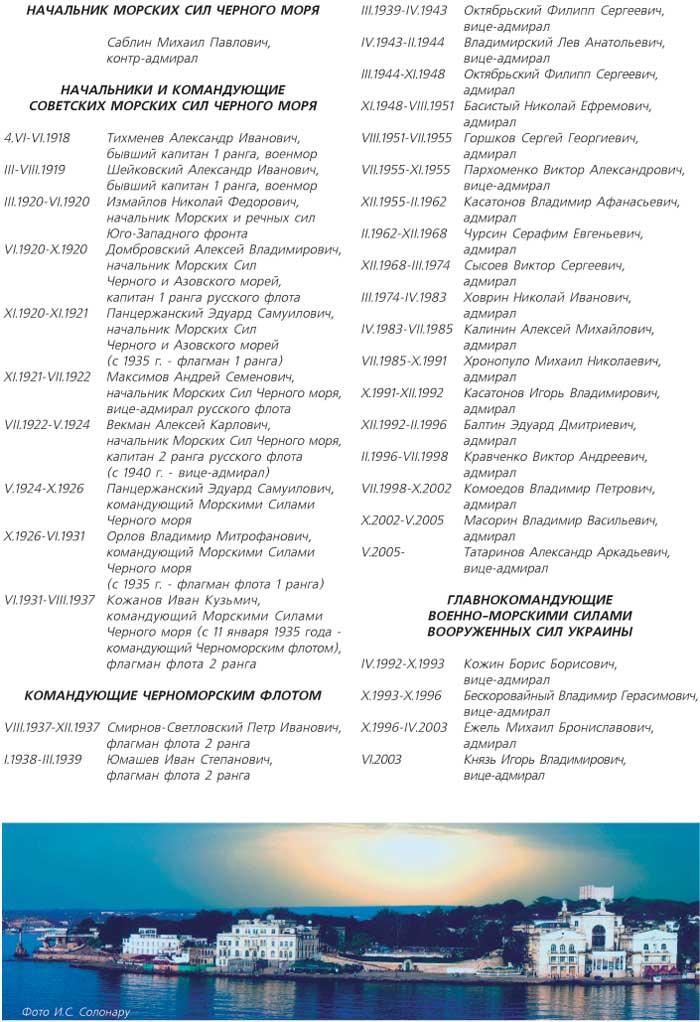 ЧЕРНОМОРСКИЙ ФЛОТ РОССИЙСКОЙ ФЕДЕРАЦИИ