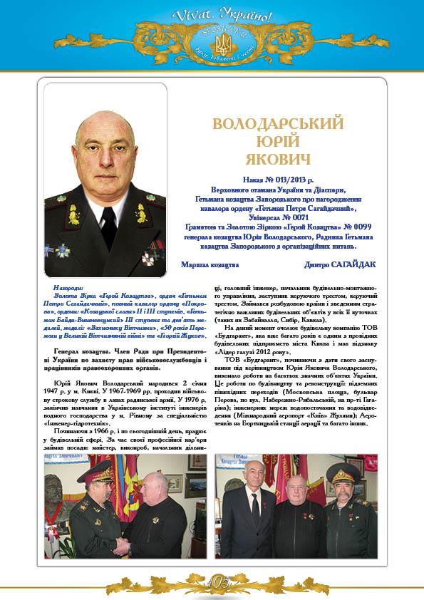Володарський Юрій Якович
