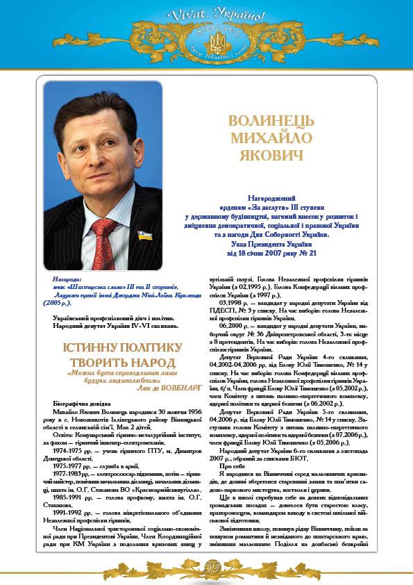 Волинець Михайло Якович
