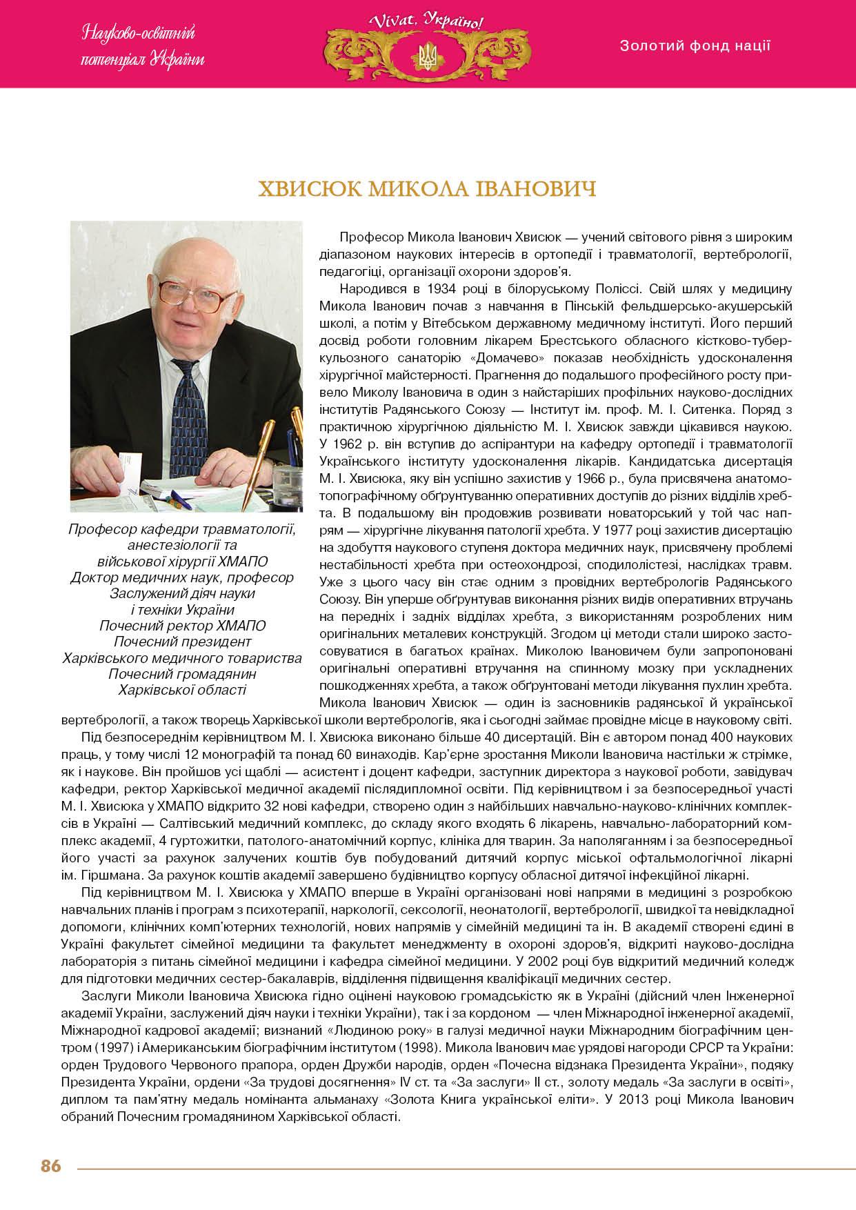 Хвисюк Микола Іванович
