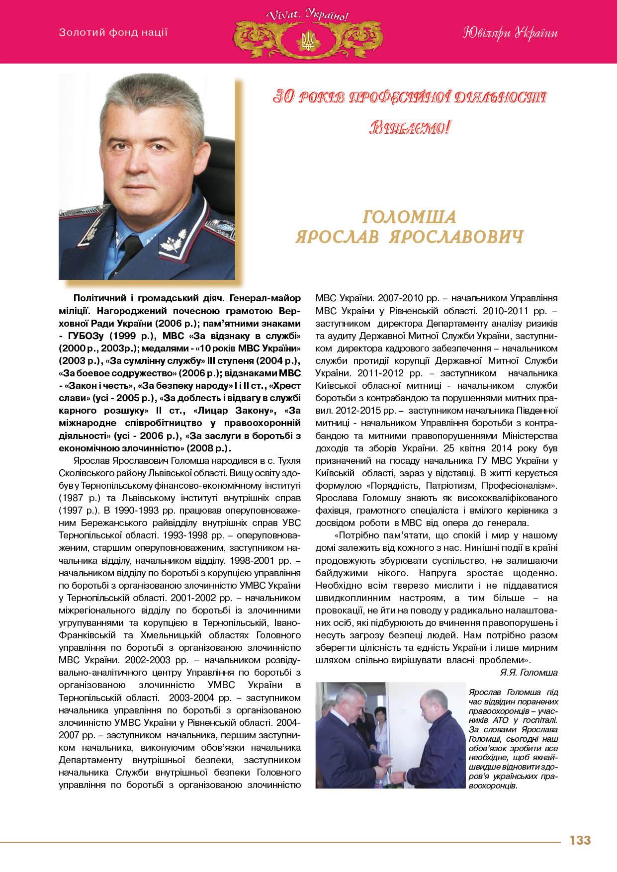 Голомша Ярослав Ярославович