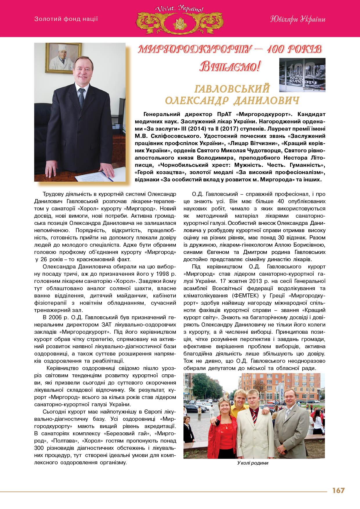 Гавловський Олександр Данилович