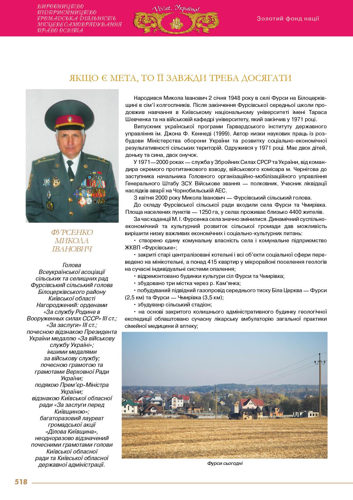 Фурсенко Микола Іванович