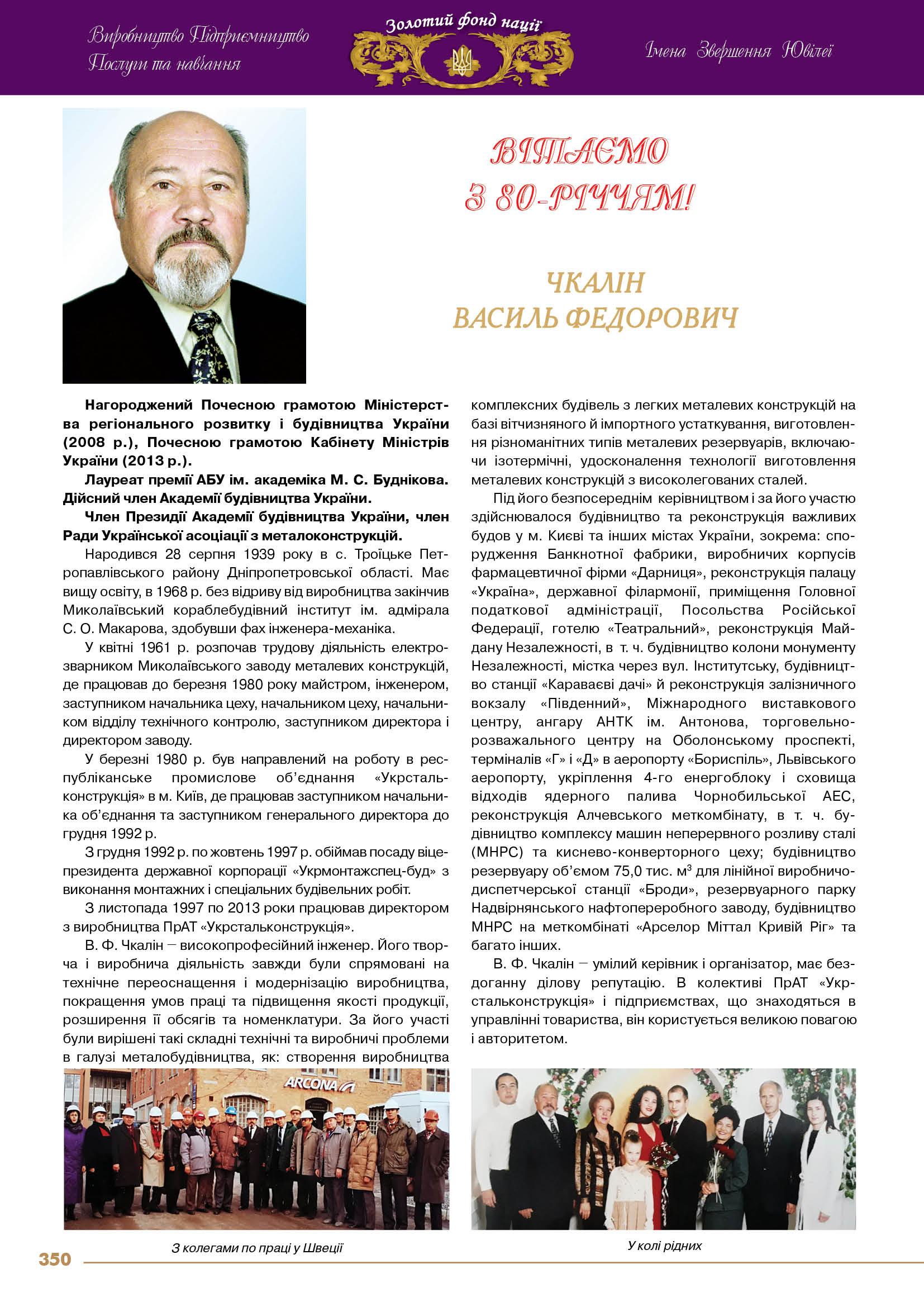 Чкалін  Василь Федорович
