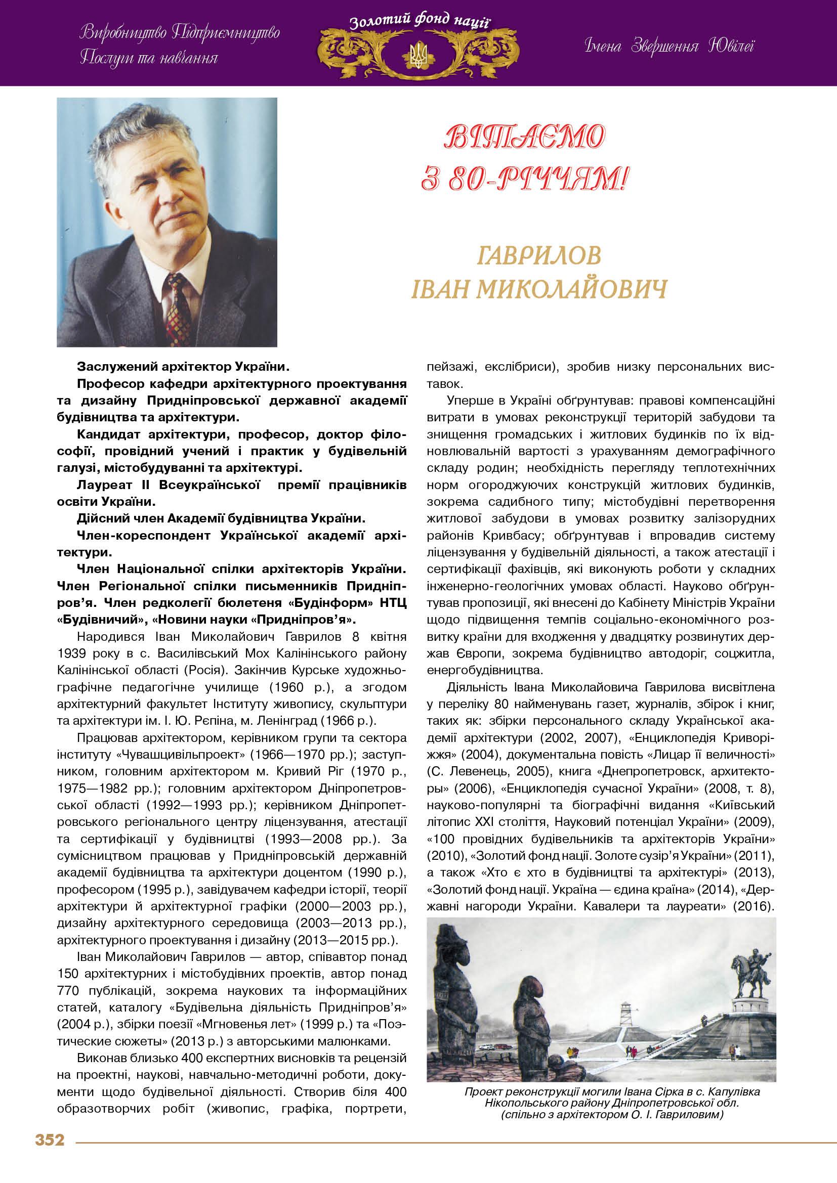 Гаврилов Іван Миколайович