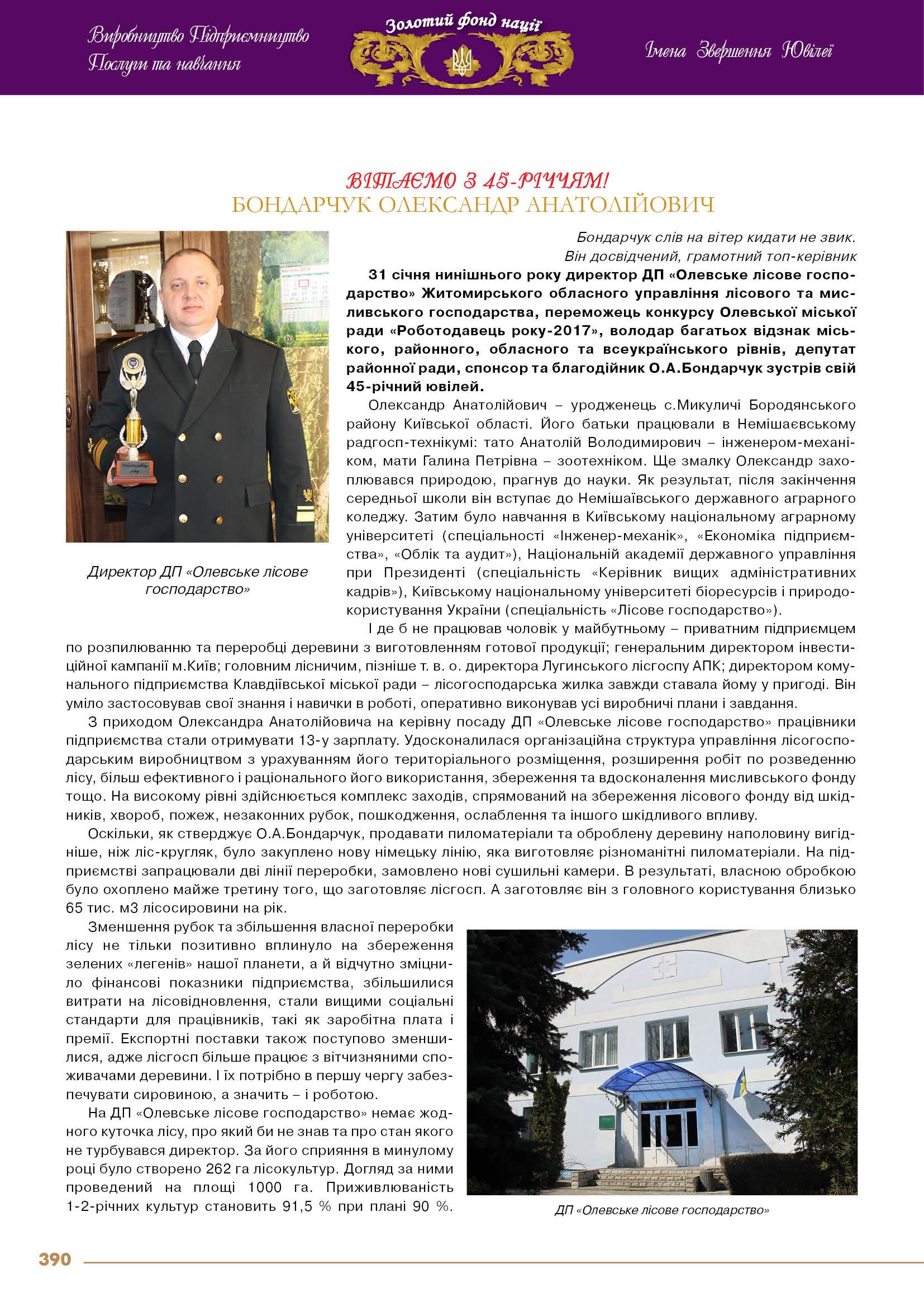 Бондарчук Олександр Анатолійович