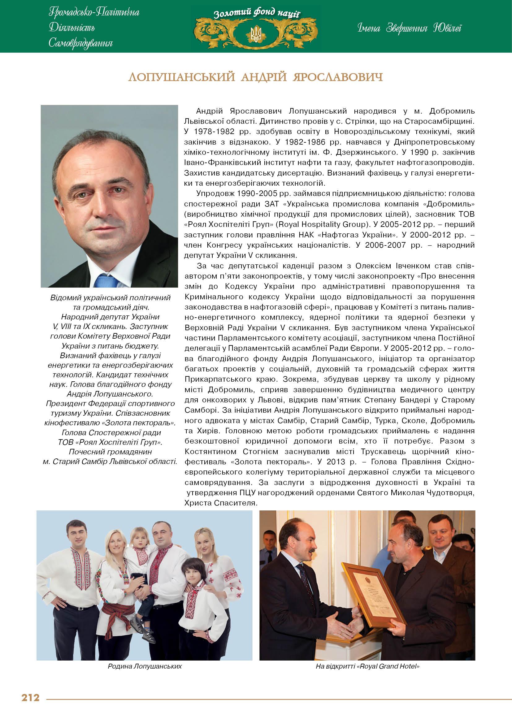 Лопушинський Андрій Ярославович