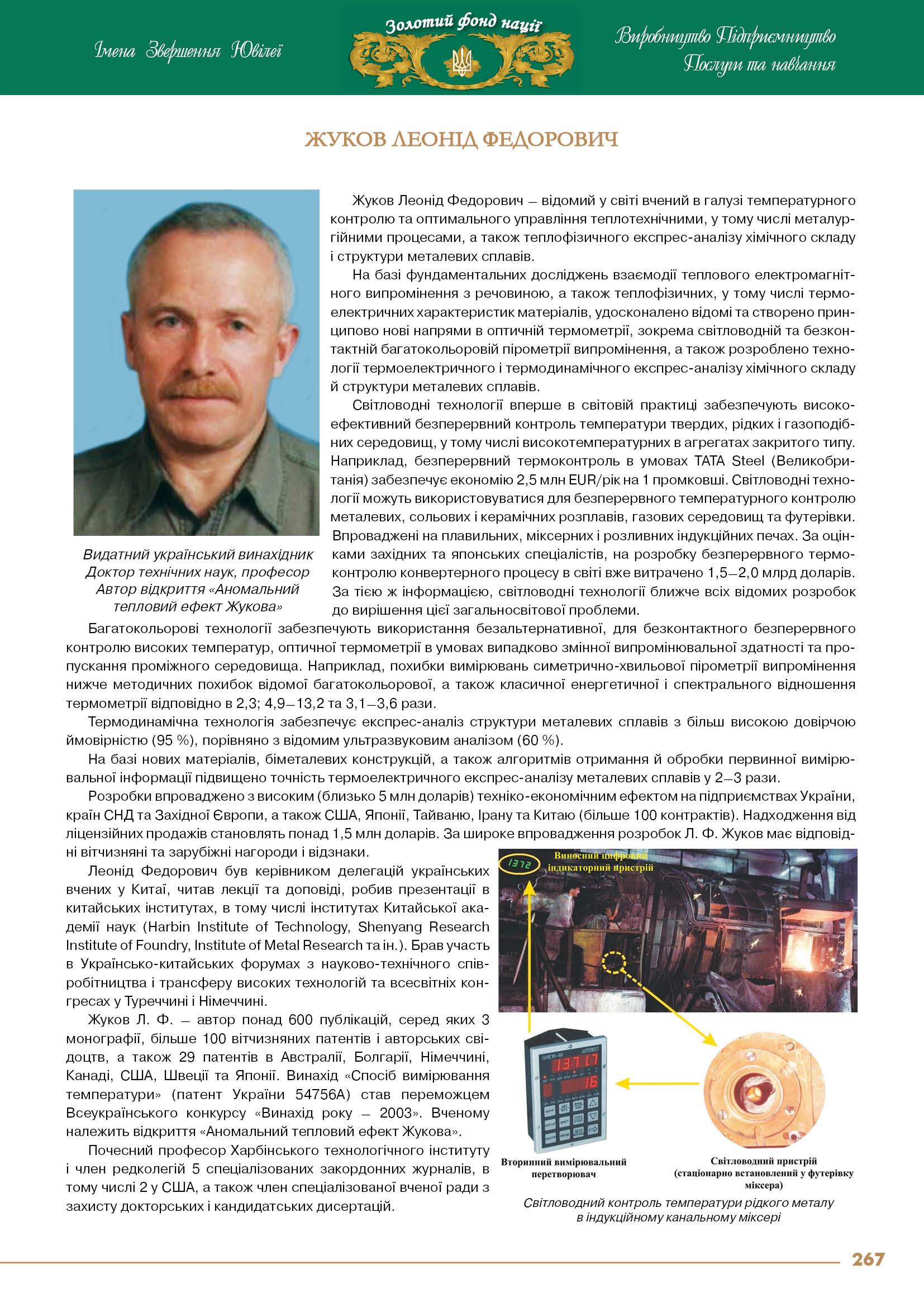 Жуков Леонід Федорович