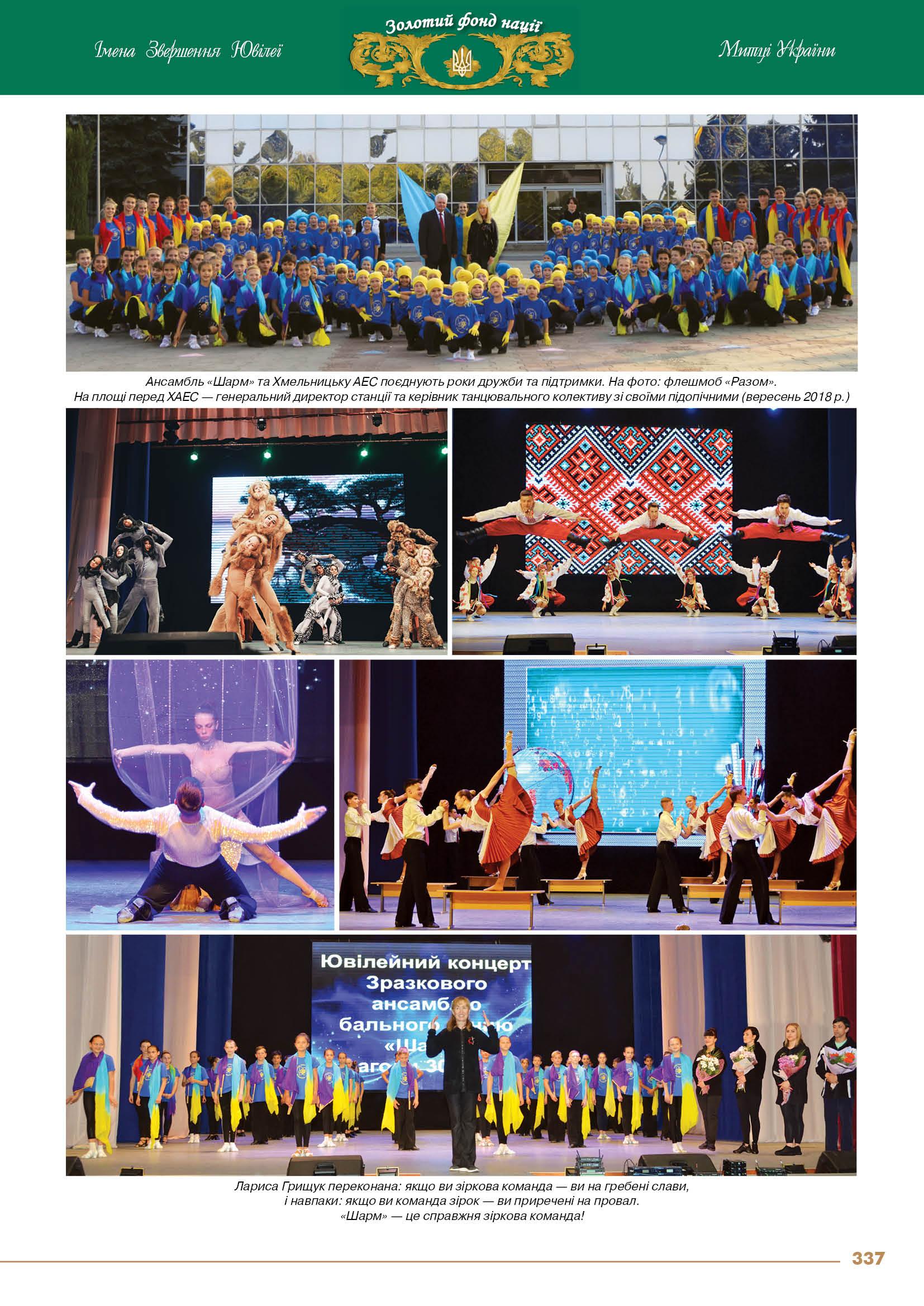 Народний ансамбль бального танцю «Шарм» Будинку дитячої творчості м. Нетішин - засновник Грищук Лариса Степанівна