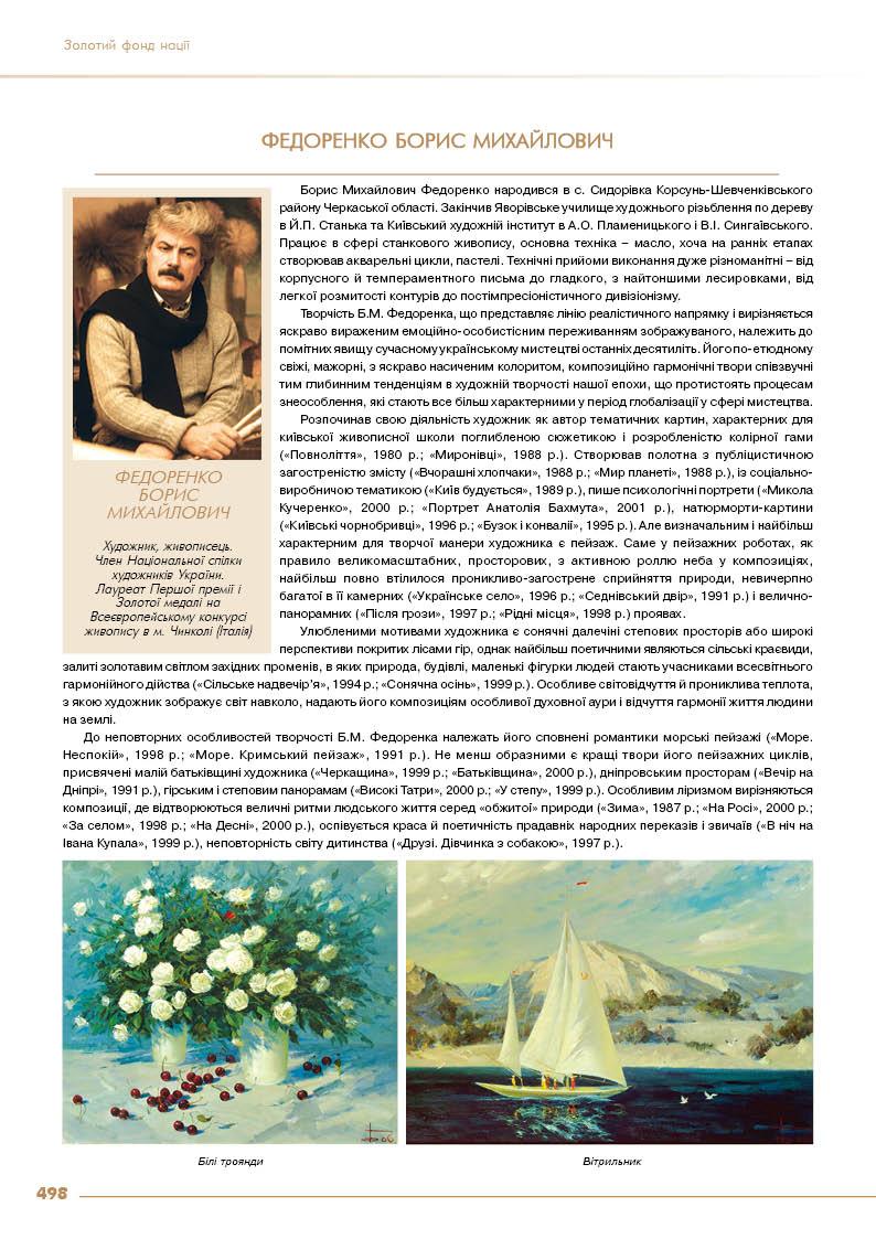 Федоренко Борис Михайлович