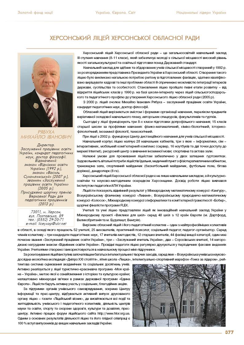 Рябуха Михайло Іванович