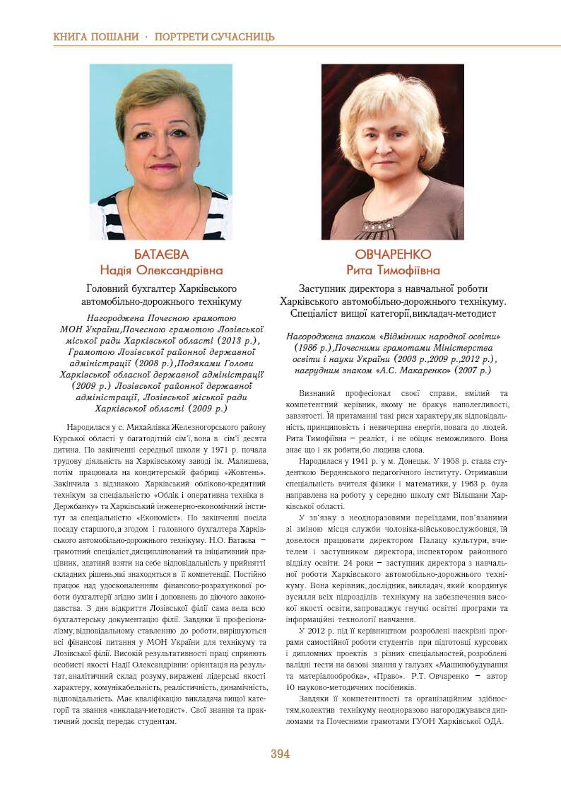 Батаєва Надія Олександрівна