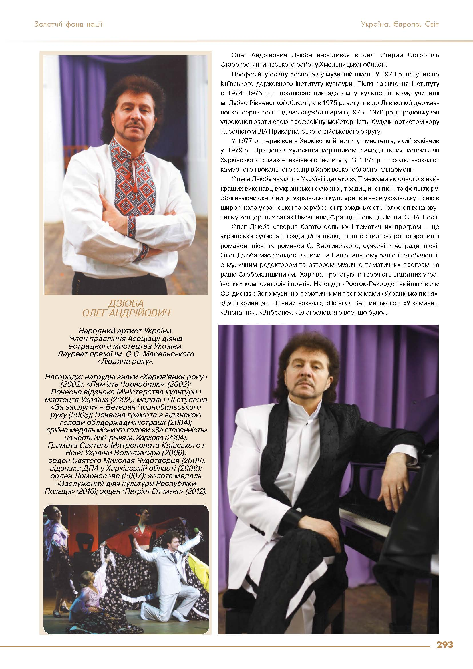 Дзюба Олег Андрійович