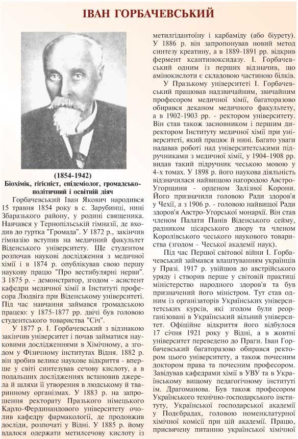 ІВАН ГОРБАЧЕВСЬКИЙ