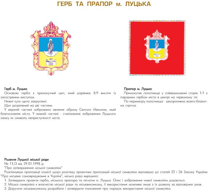 герб луцька