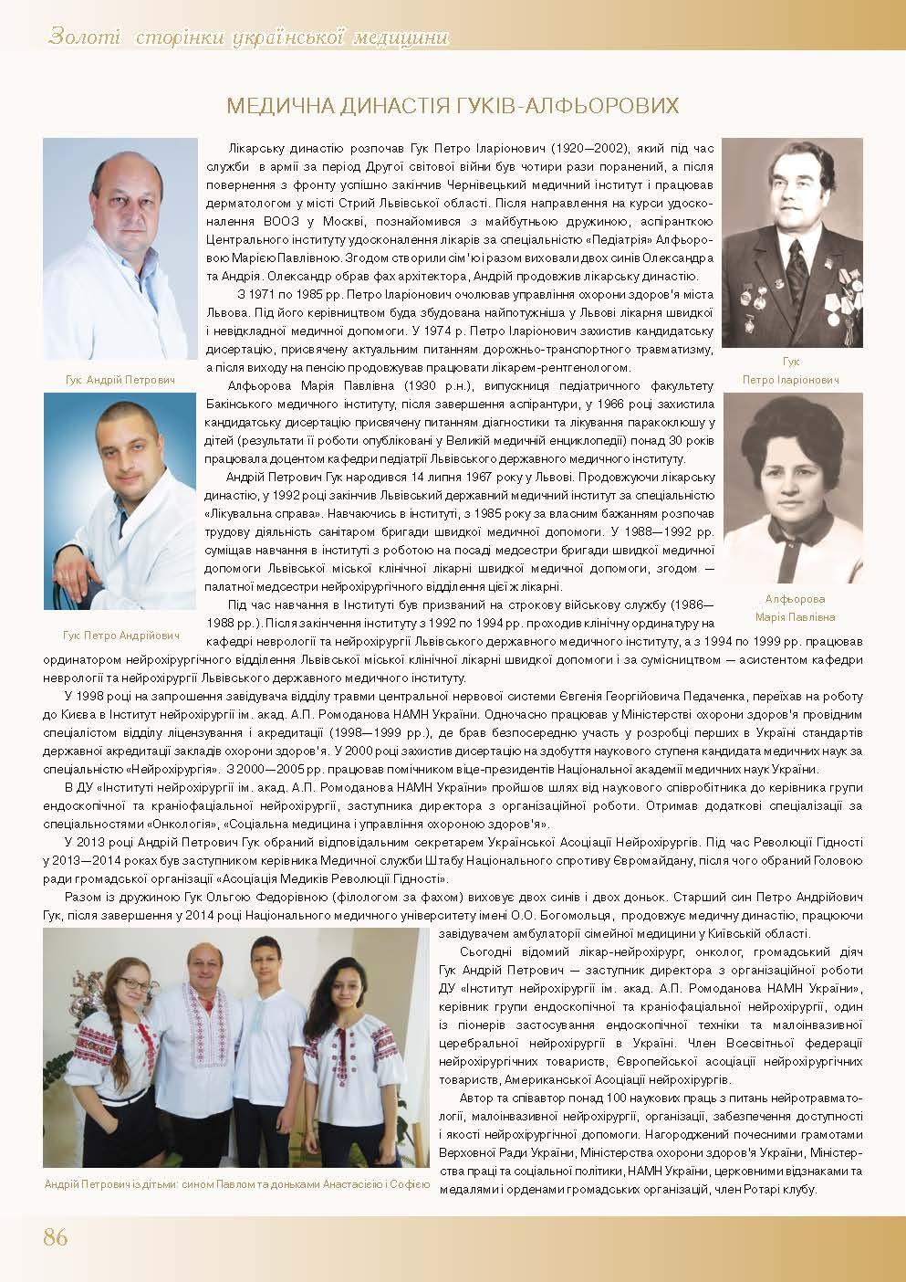 Медична династія Гуків-Алфьорових