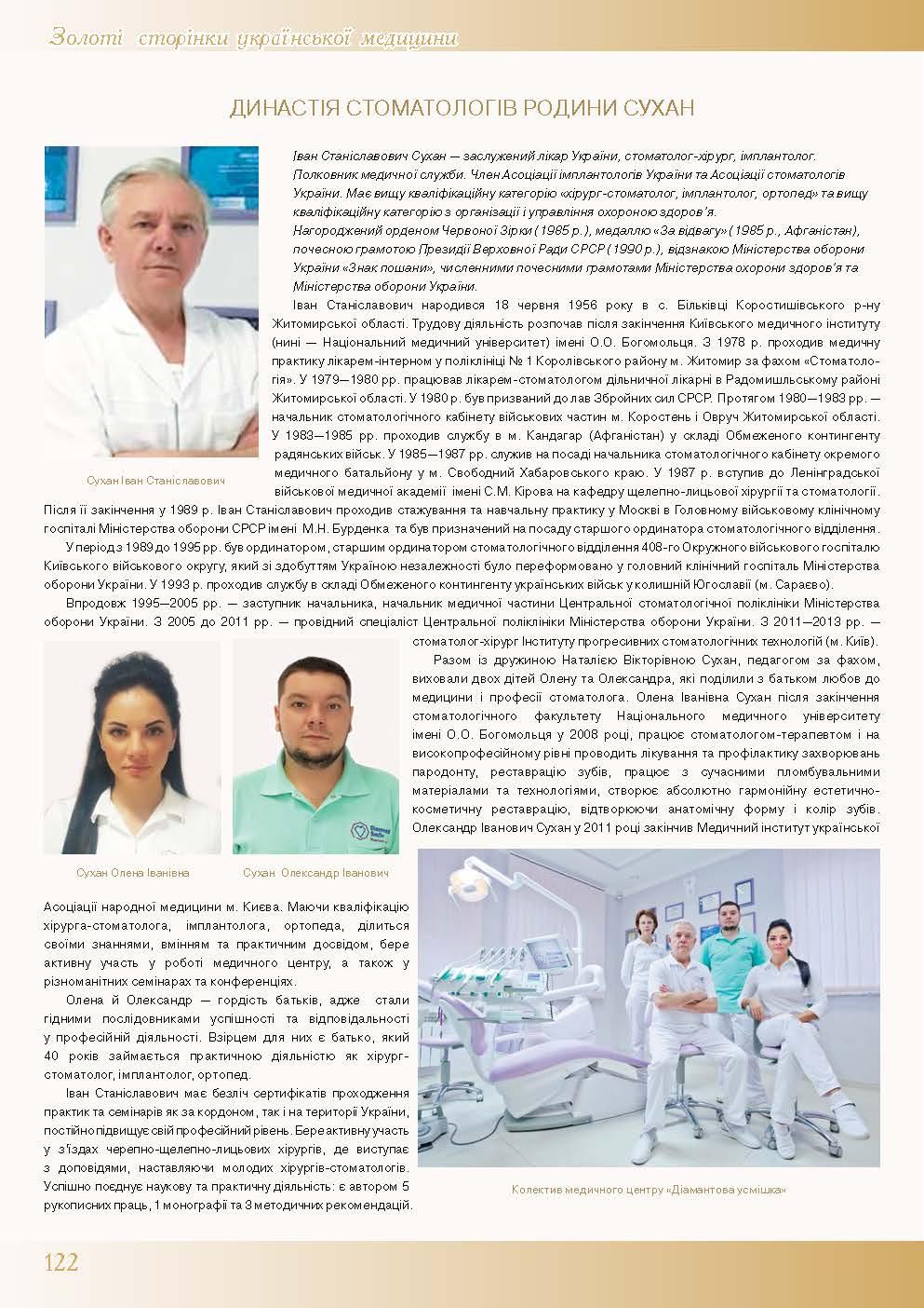 Династія стоматологів родини Сухан
