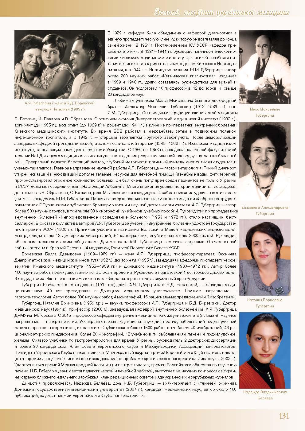 Медицинская династия Шабад-Губергриц